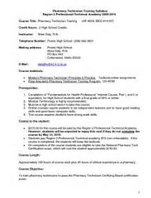 Free Resume Cover Letter Sles Resume As Pharmacy Technician Sales Technician Lewesmr