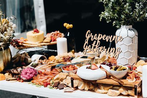 food glorious food  wedding food stations ideas