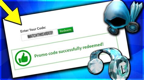 roblox  promo codes  working youtube
