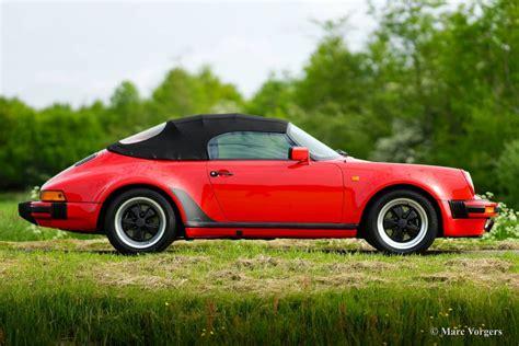 porsche speedster porsche 911 speedster 3 2 1989 classicargarage fr