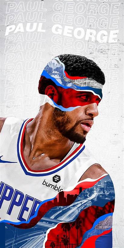 Paul George Clippers Wallpapers Iphone Nba Basketball