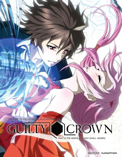 guilty crown anime tv guilty crown anime reviews anime planet