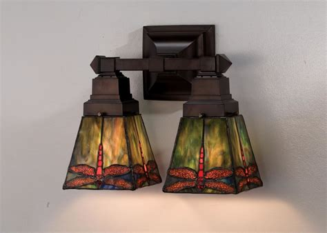Stained Glass Bathroom Light Fixtures by Meyda 48188 Glass Stained Glass