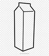 Milk Carton Coloring Clipart Pinclipart sketch template