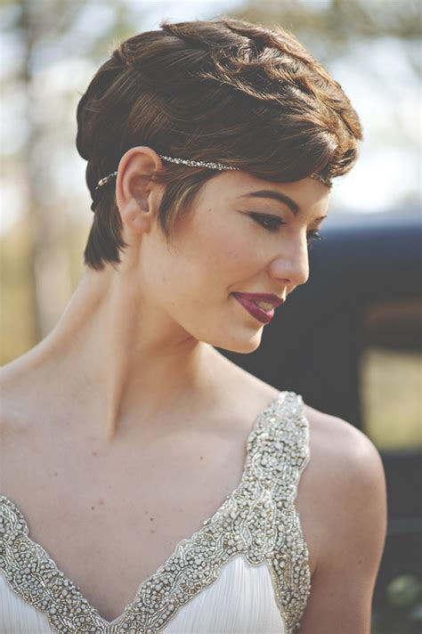 Pixie Hairstyles For Wedding by 20 Creative Wedding Hairstyles For Brides Tulle