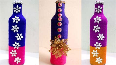diy wine bottle home decoration idea empty wine bottle