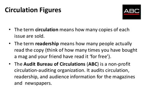 audit bureau of circulation audit bureau of circulations report 2013 mathcoursework