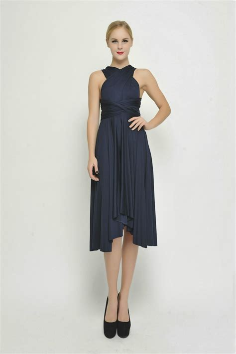 navy blue butterfly bridesmaid dresses convertible