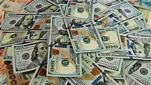 Cash Money Background Close
