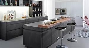 Arbeitsplatte Küche Betonoptik : leicht pr sentiert die beton front k chen adrian ~ Sanjose-hotels-ca.com Haus und Dekorationen