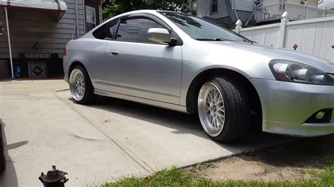 simply clean acura rsx with bbs rims youtube