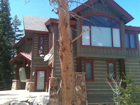 painting log cabin exterior colors studio design