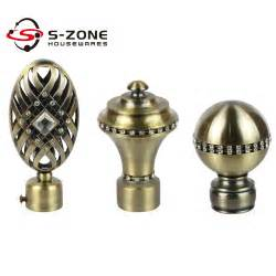 twisted wrought iron curtain rods curtain finials buy