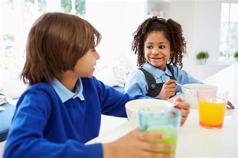 Children Eat Half Of Their Daily Sugar Intake Before School