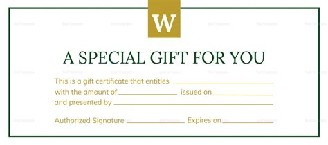 hotel gift certificate design template  psd word