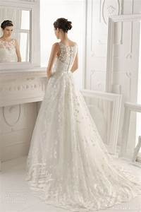 aire barcelona 2014 bridal collection lace wedding With what wedding dress should i wear