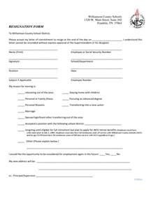 Fax Sheet Template Free Employee Resignation Form 2 Free Templates In Pdf Word Excel