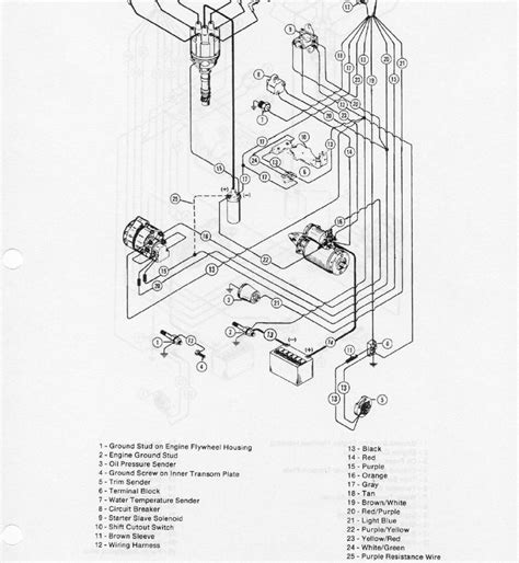 Mercruiser Ignition Coil Wiring Diagram mercruiser 228 ignition coil wiring diagram