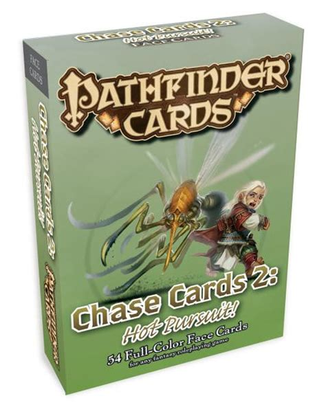 chaise cars paizo pathfinder cards cards 2 pursuit pzo3036
