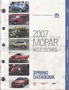 2007 Jeep Grand Cherokee Repair Shop Manual Original 4 Vol