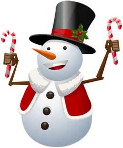 Christmas Snowman Clip Art Transparent
