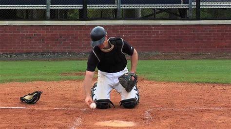 Baseball Catcher : Softball Catcher - YouTube