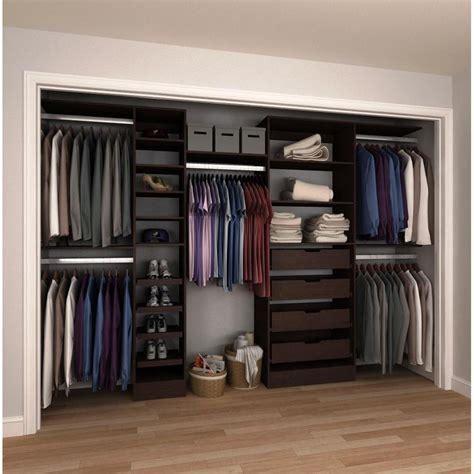 Design A Closet System modifi 15 in d x 180 in w x 84 in h melamine reach in