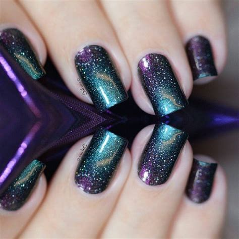 beautiful galaxy nails page    design birdy