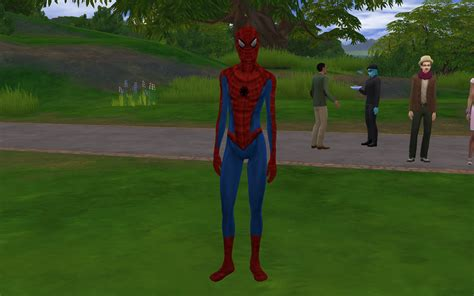 mod  sims spider man costumes