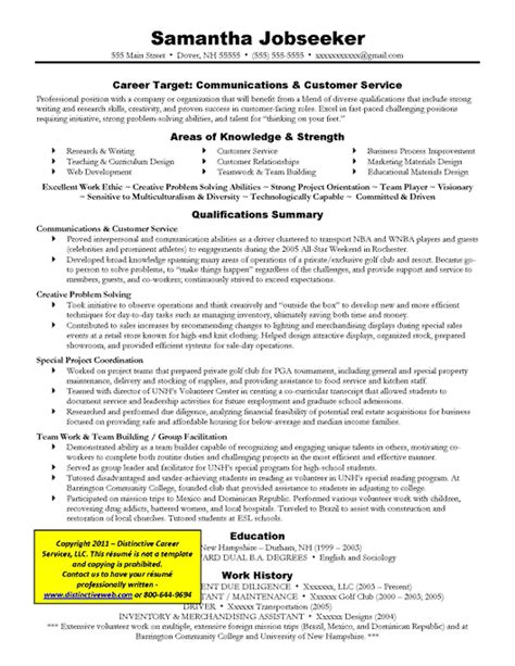 Target Resume Format by How To Write A Targeted Resume