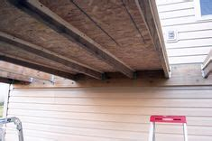 Shed Under Deck  Here You Can See The Underside And The