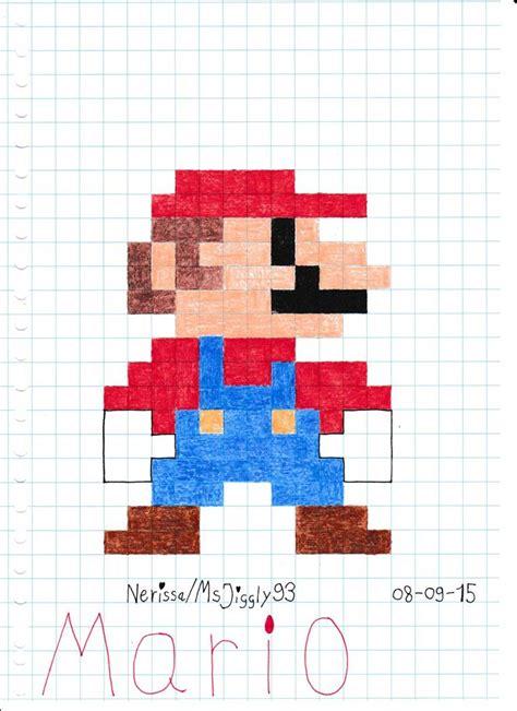 Mario 8 Bit By Msjiggly93 On Deviantart