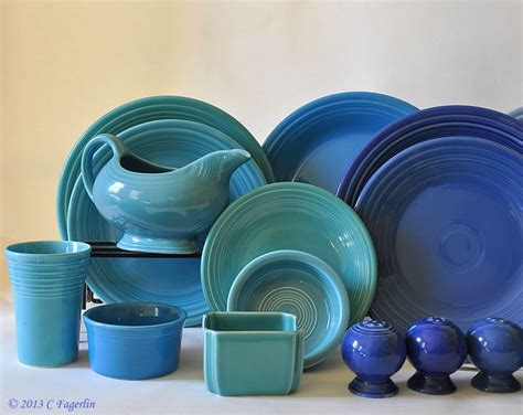 fiestaware fiesta colors combinations know labels dinnerware blues scarlet turquoise those ware dishes