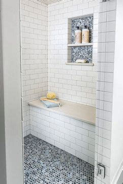 contemporary bathrooms shower tiles and white subway