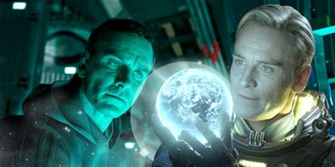 covenant android michael fassbender shares details on his covenant