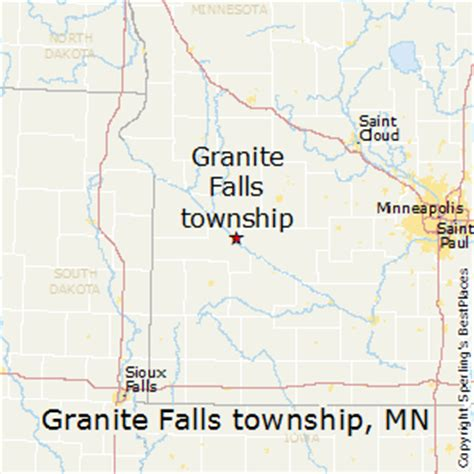 best places to live in granite falls township minnesota