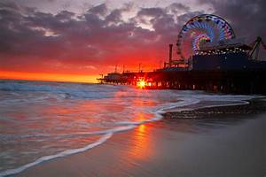 "Santa Monica Pier, Ca - Rainbow Rising | ""When there's ..."