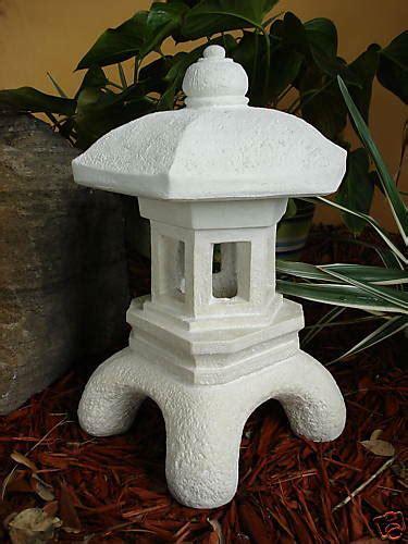 japanese yard decor pagoda concrete lantern japanese antique garden