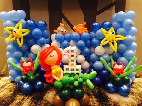 balloon underwater backdrop  balloons