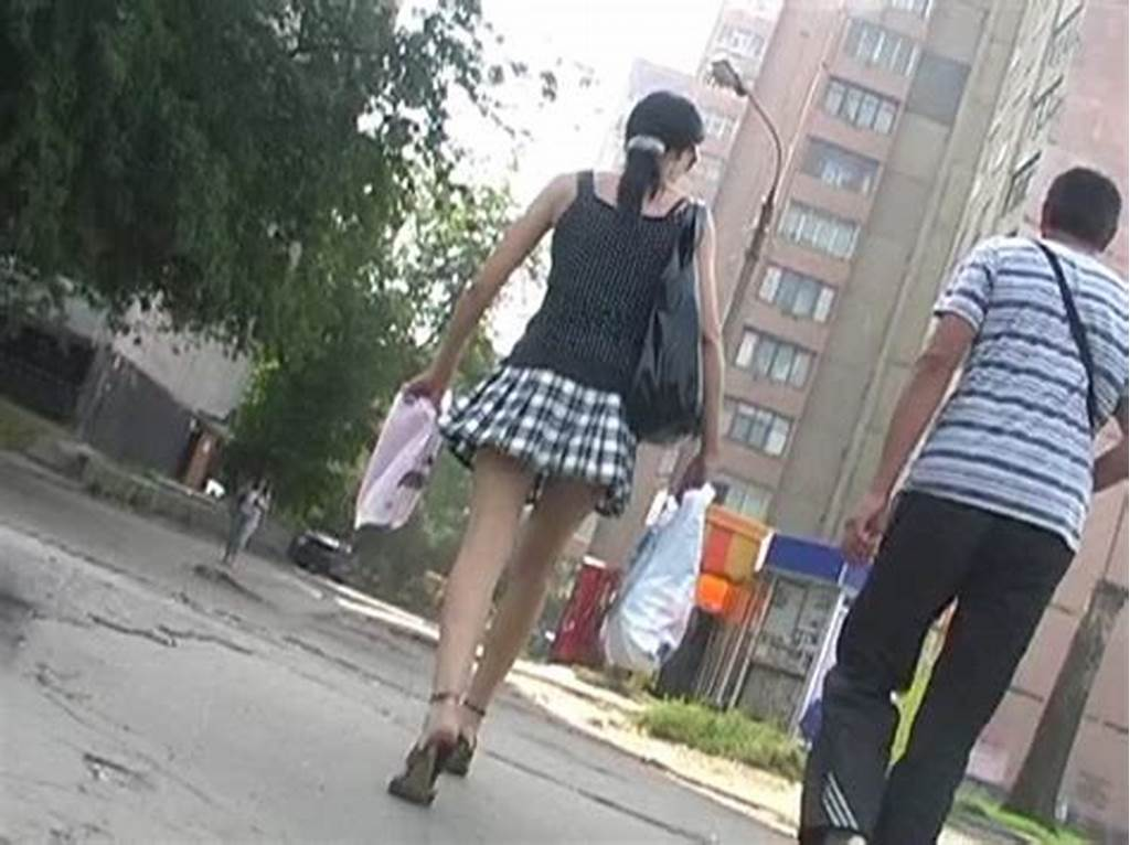#Sneaky #Upskirt #In #A #Windy #Weather #Young #Upskirt