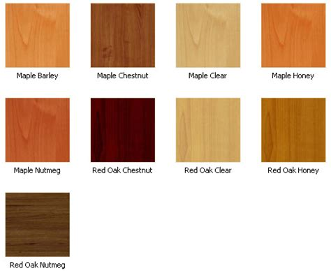 kitchen cabinet wood colors cabinet refacing color options images frompo