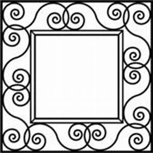 Square window clipart black and white - Clip Art Library