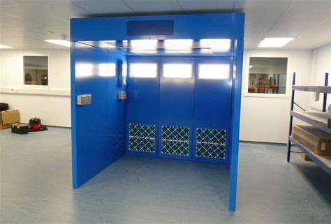 dust control booths designed  installed