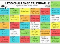 Fall LEGO Building Ideas for Kids Seasonal Challenge