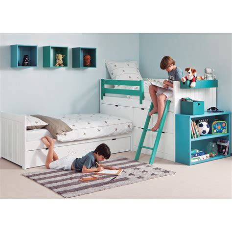 chambre pour deux enfants coin nuit design et haut de gamme pour chambre d 39 enfants