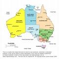 Australia Printable, Blank Maps, Outline Maps • Royalty Free