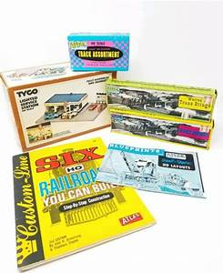 Vintage Ho Tyco Boxes User Manuals Track Assortment