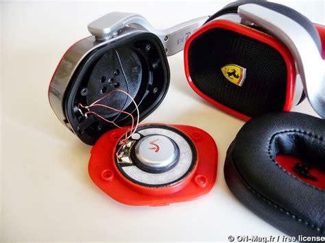 test ferrari  logic  le casque audio de   mag