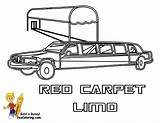 Limo Coloring Pages Limousine Transportation Printable Police Cars Colouring Vehicles Service Fire Template Celebrity Emergency Yescoloring Boys Trucks Results Powered sketch template