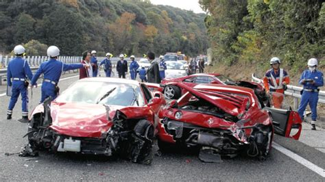 'world's Most Expensive Car Crash' Results In 10 Charged